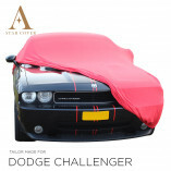 Dodge Challenger Indoor Autoabdeckung - Rot