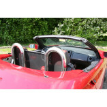 Installation manual Alfa Romeo Spider 916 roll bar wind deflector