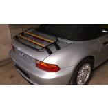 BMW Z3 Roadster Gepäckträger | Limited Wood Edition |1995-1999 | Black