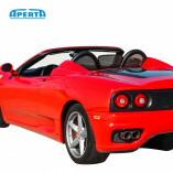 Ferrari 360 & F430 Spider Windschott (Mitte) - Schwarz 2000-2009