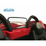 Ferrari 360 & F430 Spider Windschott (Links & Rechts) - Schwarz 2000-2009