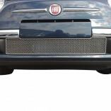 Fiat 500 Edelstahl Kühlergrill 1-Teilig 2007-2015