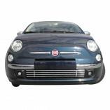 Fiat 500 Edelstahl Kühlergrill Aston Martin Look 1-Teilig 2007-2015