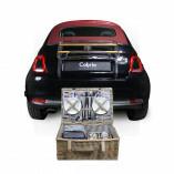 Cabrio Picknickkorb für 4 Personen 55 x 37 x 21 cm