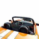 Fiat Barchetta Roadsterbügel mit Windschott - BLACK EDITION 1995-2005