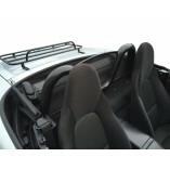 Mazda MX-5 NA & NB Überrollbügel Model A + Windschott 1989-2005  BLACK EDITION