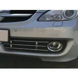 Mercedes-Benz SLK R171 Edelstahl Kühlergrill Aston Martin Optik 3-Teilig 2008-2011