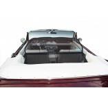 Ford Mustang 1 Reihe 1,2,3 Aluminium Windschott - Schwarz 1964-1970