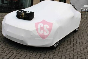 Fiat - Abarth - 124 Spider Autoabdeckung - Maßgeschneidert - Weiß