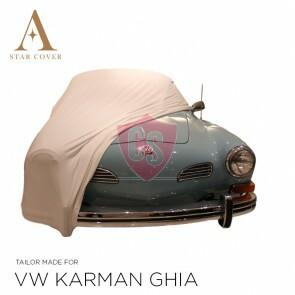 Volkswagen Karmann Ghia Autoabdeckung - Maßgeschneidert - Weiß