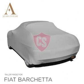 Fiat Barchetta Autoabdeckung Silbergrau