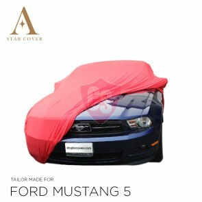 Ford Mustang 5 2005-2014 Autoabdeckung Rot