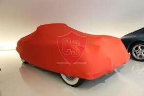 Jaguar XK150 Indoor Autoabdeckung - Rot