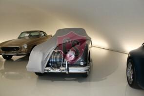 Jaguar XK150 Autoabdeckung - Maßgeschneidert - Silbergrau