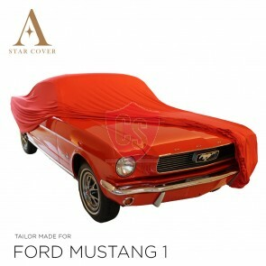 Ford Mustang Cabriolet Indoor Autoabdeckung - Rot