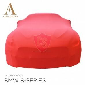 BMW 8 Reihe Cabrio G14 Indoor Autoabdeckung - Rot