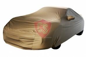 Porsche 911 997 Wasserdichte Vollgarage - Star Cover - Khaki - Spiegeltaschen