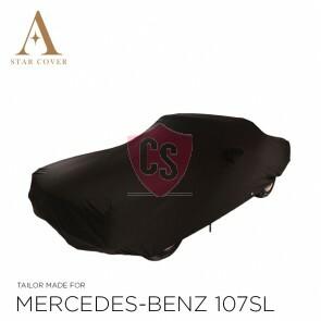 Mercedes-Benz R107 SL Wasserdichte Vollgarage - Star Cover - Spiegeltaschen