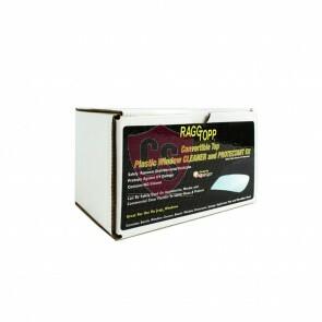 Raggtopp Cabrio-Folienscheiben Reinigungs- und Schutzset