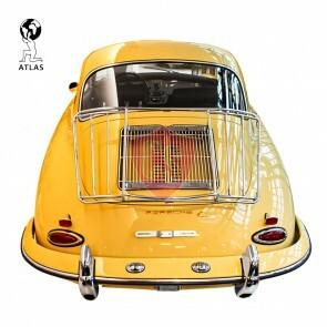 Porsche 356 A B C Gepäckträger Leitz Style - Chrome
