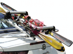 Gepäckträger + Skiträger - 97x45cm - UNISPIDER A