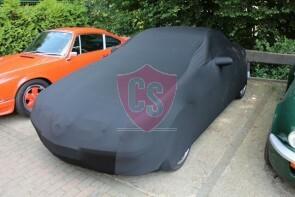 Mercedes-Benz SLK R171 Autoabdeckung - Maßgeschneidert - Spiegeltaschen -Schwarz