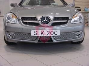 Mercedes SLK R171 Front Bumper Mesh Grill | 3 pieces | 2008-2011