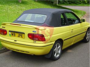 Ford Escort Cabrio PVC Verdeck 1992-1998