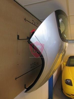 BMW E30 Cabrio Hardtop Wandhalter