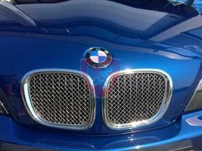 BMW Z3 Roadster Edelstahl Kühlergrill (2-Teilig)