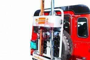 Reserverad Skiträger Geländewagen | FABBRI GRINGO SKI