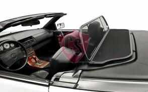 Mercedes-Benz SL-Klasse R129 Aluminium Windschott - Schwarz 1989-2001
