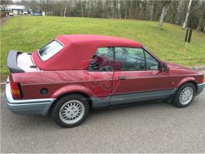 Ford Escort MK3 & MK4 Stoff Verdeck 1983-1991