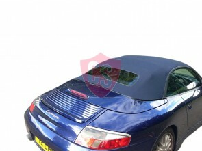 Porsche 996 Stoff Verdeck - PVC Heckscheibe 1999-2001