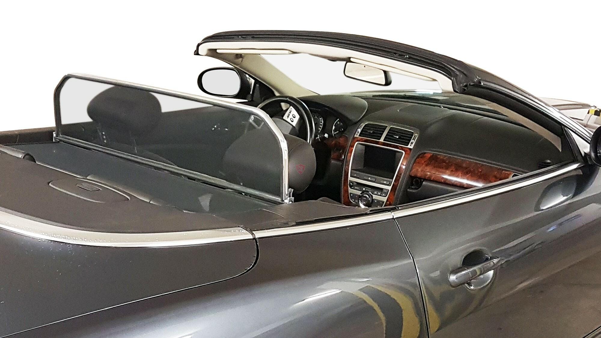 Lightweight Wind Deflector Jaguar XK (R) X150 - Chrome ...
