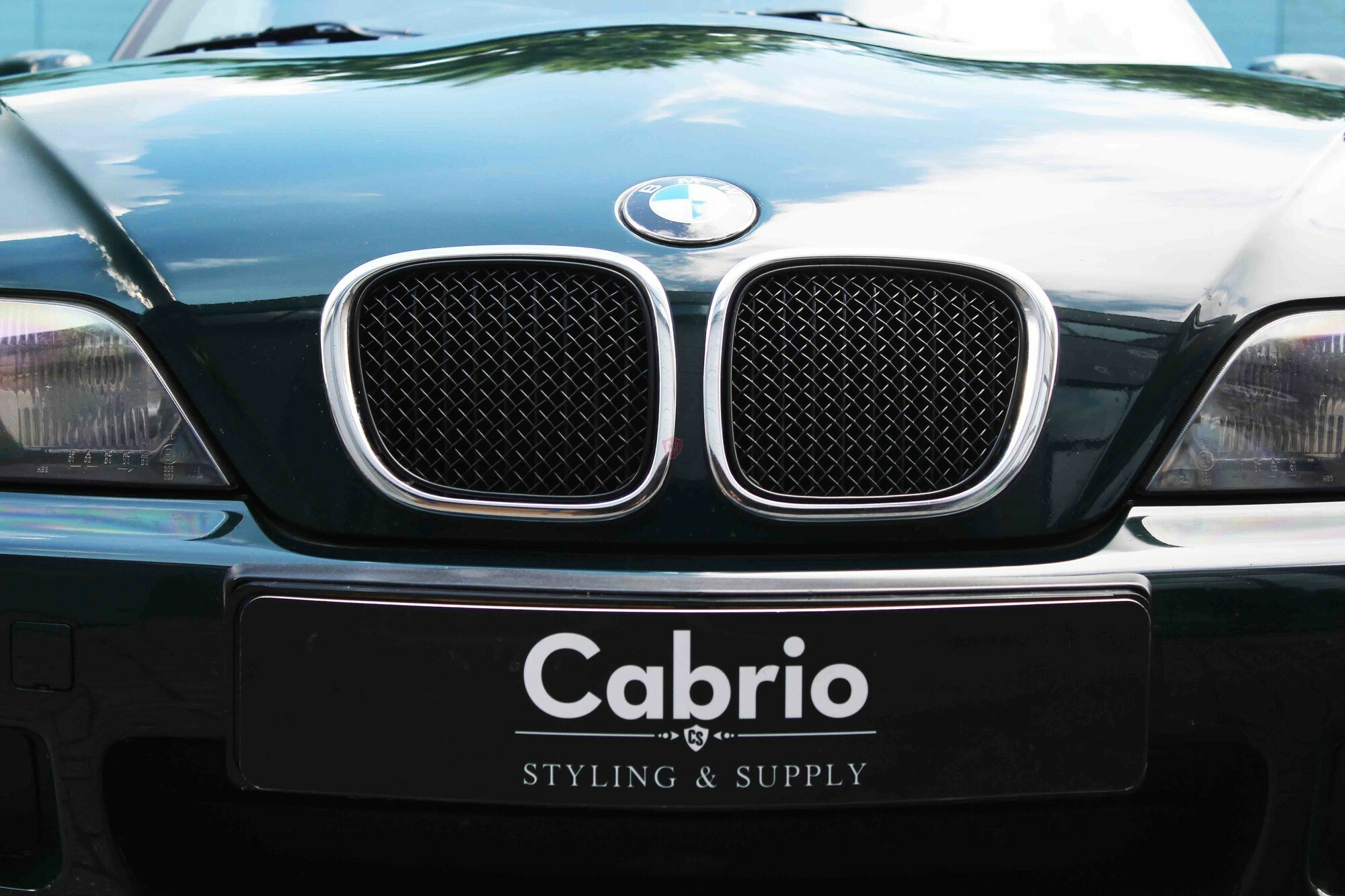 bmw z3 roadster edelstahl k hlergrill matt schwarz. Black Bedroom Furniture Sets. Home Design Ideas