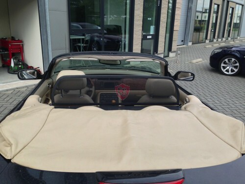 Jaguar XK8 / XKR X100 Windschott - Schwarz 1996-2006 | Cabrio Supply