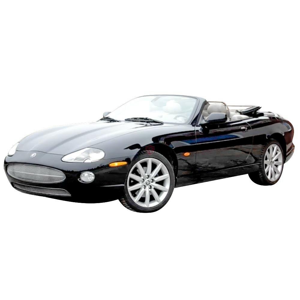 Jaguar XK8 XKR X100 Edelstahl Kühlergrill 1996-2003 ...