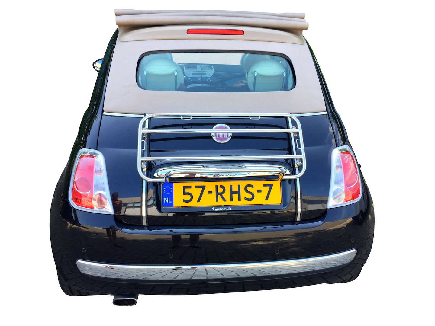 fiat 500c luggage rack boot carrier 2009 2017 new cabriolet atlas ebay. Black Bedroom Furniture Sets. Home Design Ideas
