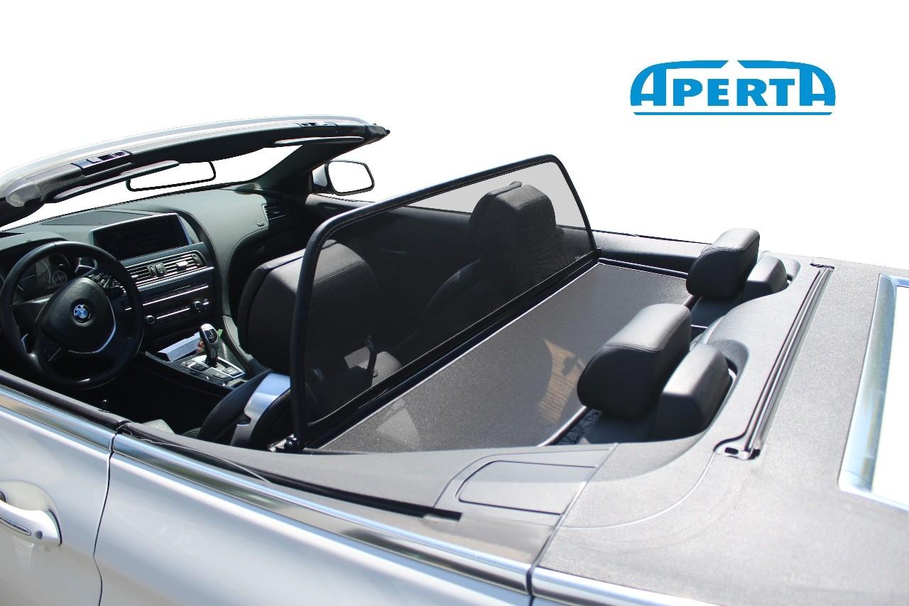 Neue Hochwertiges Windschott Klappbar Windabweiser für einen Bmw 6er Cabrio E64